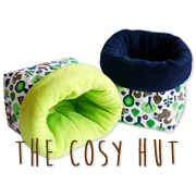 The Cosy Hut - Gemütliches für Tiere-Logo